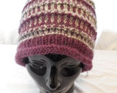 Adult Hand-knit Winter Hat