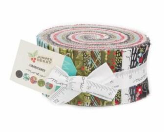 SALE Jelly Roll Strips - JUNIPER BERRY Farm Moda Fabric by BasicGrey