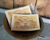 Herb Angel - LIMITED EDITION Folk Art Notecards - from Notforgotten Farm™