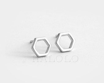 Beehive Stainless Steel Earring Post Finding (ET010)
