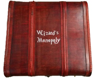 Wizards Monopoly Trunk & Tray
