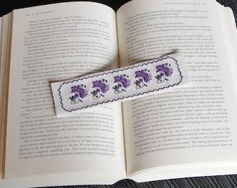 Bookmark (Purple Flowers)