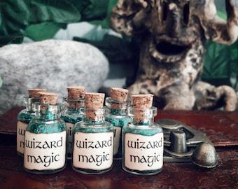 6 x wizard magic vials