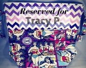 RESERVED FOR TRACY P - Wonder Woman Large Drawstring Bag