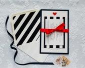 Romantic Heart-Themed Wedding Invitations