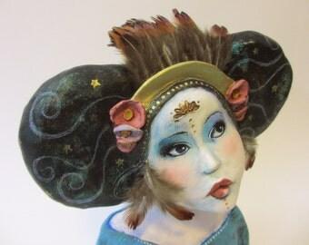 Goddess Pagan Art Doll  - The Swirl of Time