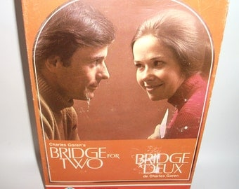 Vintage Charles Goren's Bridge for Two Board Game