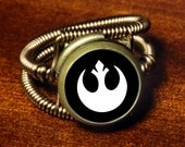 Rebel Ring  (Custom size available - see description) Starwars