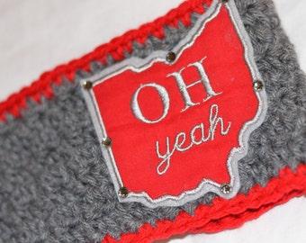 Women's // Crochet Headwrap // Headband // Earwarmer // OH Yeah // Handmade