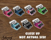 Typewriter - Write Sh*t! Writer Planner Stickers