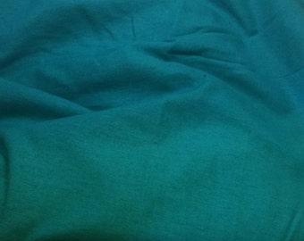 100% LINEN Fabric - TURQUOISE - 1/4 Yard