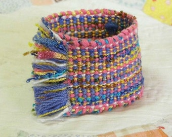 Handwoven Cuff Bracelet by Frederick Avenue