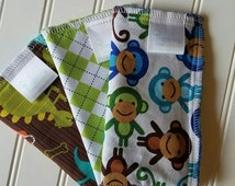 Kids-Wash-Cloth-Wild-Animals-Baby-Wipes-Meal-Time-Clean-Up-Art-Time-Wiping-Boards-New-Parent-Baby-Accessories-Shower-Baby-Toddler-Git-Set