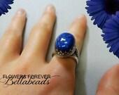 Flower Petal Jewelry, Memorial Jewelry, Memorial Ring, Gift for Her, Miscarriage,Pet Memorial, Memorial Gift Idea, Karbella Ring