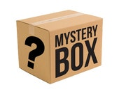 Mystery box, Hair flowers, Barrettes, Jewelry, Earrings, Necklace, Gift for her, MsFormaldehyde