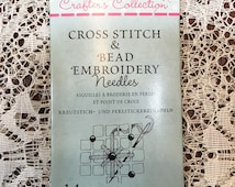 Needles for Cross Stitch and Bead Embroidery 14 Needles JJCC014