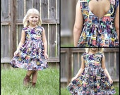 Completely Custom Sweetheart Dress - Size 2T-6 - you pick the fabric