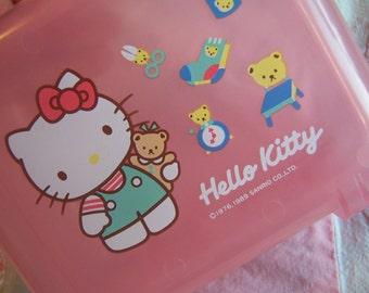 sanrio hello kitty plastic tote