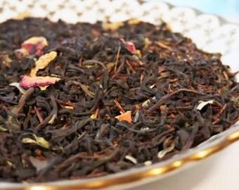 Camelot Tea, Black Tea, Rooibus, Loose Leaf Blend