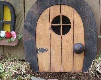 Fairy Doors,  Faerie Doors, Gnome doors, Elf Doors, rounded.