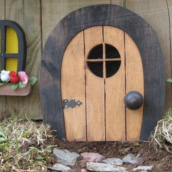 Fairy doors faerie doors gnome doors elf doors rounded for The faerie door