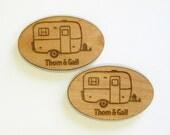 Scamp Camper Personalized Magnets, Casita Travel Trailer, Burro Camper, Boler Camper, Glamping Magnets, Egg Camper, Fiberglass Camper, Camp