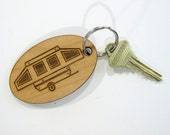 Pop Up Camper Key Fob, Pop Up Camping Trailer, Pup Camper, Pup Trailer, Trailer Keyring, Trailer Key Fob, Campground, Camp Key Fob, Travel