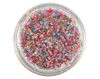 Rainbow Sanding Sugar - bright rainbow sprinkles for decorating cupcakes, cakes, cakepops, and cookies
