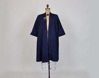 1950s jacket / Midnight Stroll Vintage 50's A Line Evening Jacket