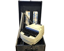 Stenograph Machine, Retro Office Decor, Tripod, Paper & Case for Portable Use, Vintage Work