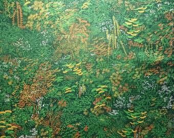 Kimono Silk Green Landscapes