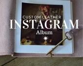 Instagram Photo Album for Valentines Day / Stardust Pink / Antique Skeleton Key