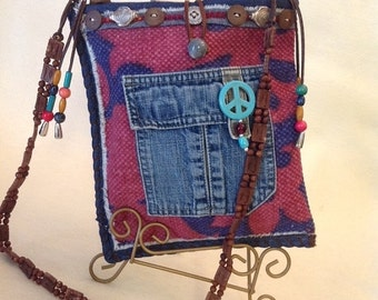 NOW ON SALE Small Fun Hippie Style Casual Shoulder Bag