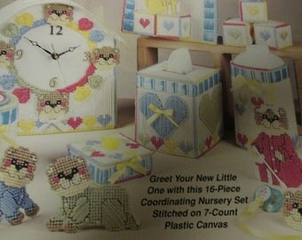 Nursery Plastic Canvas Patterns Beary Special Baby The Needlecraft Shop 983076 Plastic Canvas Leaflet