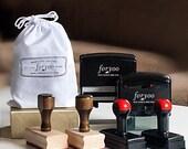 Self Inking Address Stamp - Wooden Stamp - Address Stamp - Custom Address Stamp - Return Address Stamp - Personalized Gift - Wedding Gift
