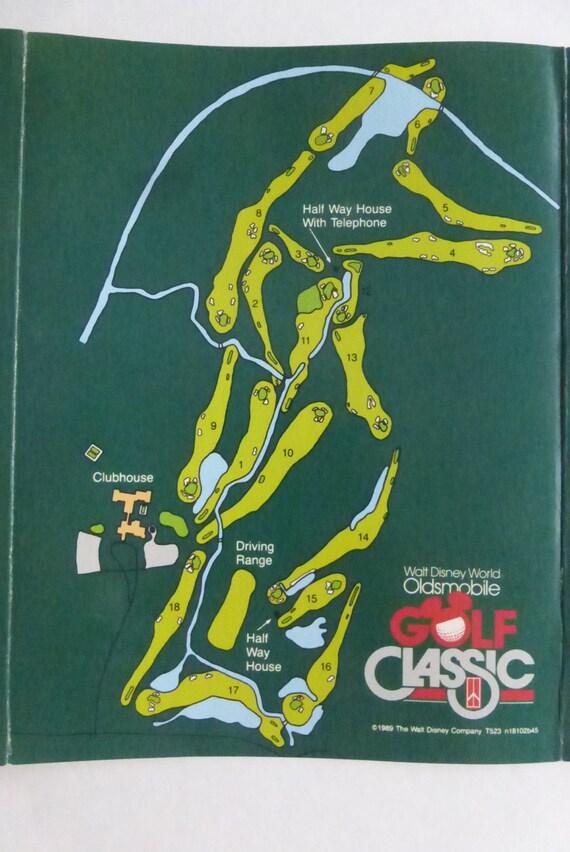 Vintage Walt Disney World Magnolia Golf Course Unused