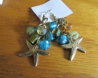 star fish dangle charms