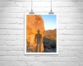 Murray Bolesta, Arizona, Desert Picture, Southwestern Art, Cowboy, Tucson, Self Portrait, Sonoran Desert, Tucson Mountain Park