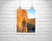 MurrayBolesta, Desert, Fine Art Photography, Tucson, Arizona, Cowboy, Self Portrait, Sonoran, Wall Picture, Wall Print, Silhouette, Sunsets