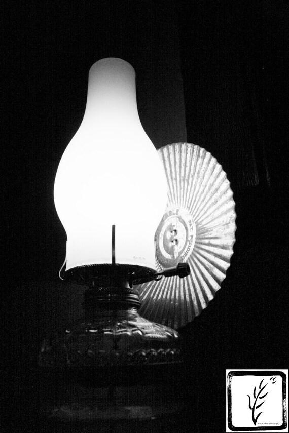 Black and White Photograph, fine art, photo print, photography, wall art, home decor, lamp, light