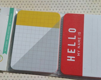 Project Life Cards - MY STORY - Scrapbook Journal Cards - 40 Cards