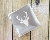 Organic Bamboo Washcloth - Baby Washcloth - Deer - Organic Bamboo Washcloth - Bath & Beauty