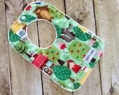 Nursery Rhyme Bib - Bowties Bib - Gift for Baby - Bib