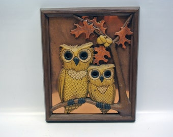 Autumnal owl picture