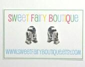 R2-D2 - Star Wars - stud earrings
