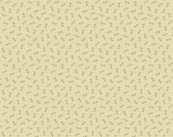 Andover Itsy Bits Fabric, Beige, by Renee Nanneman of Need'l Love, #4263