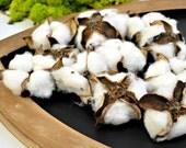 Cotton Bolls -  Cotton Pods - Bolls of Cotton - Faux Cotton Bolls - Rustic Wedding Decor - Floral Supplies - Craft Supplies