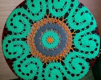 Curls Crochet Spare Tire Cover