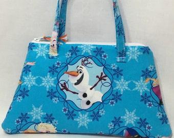Frozen Girls' ~ Raegan Little Purse ~ Frozen (Olaf) pattern