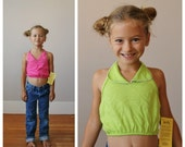 NOS, 1970s Sugar & Spice Halter Top >>> Size 3t/4t or 5t/6